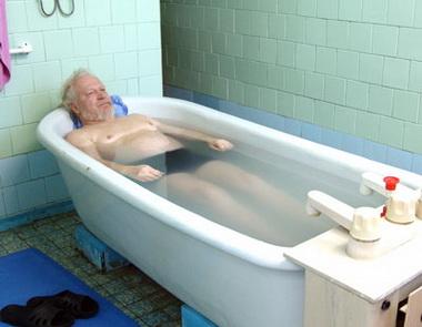 Как делать гипертермическую ванну?