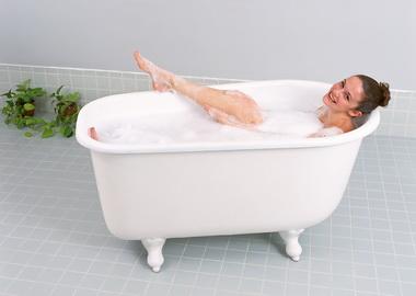 Как делать скипидарную ванну?
